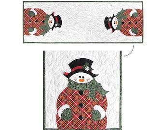 Mr. Frosty PDF Quilt Pattern