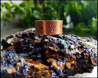 CUSTOM Copper adjustable Ring