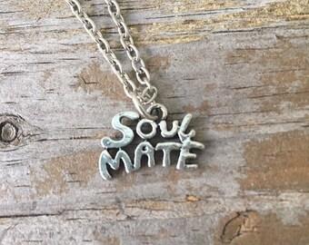 Soulmate Necklace/ Soul Mate Necklace/ Soulmate Choker/ True Love Charm/ Love Necklace/ Best Friend  Necklace