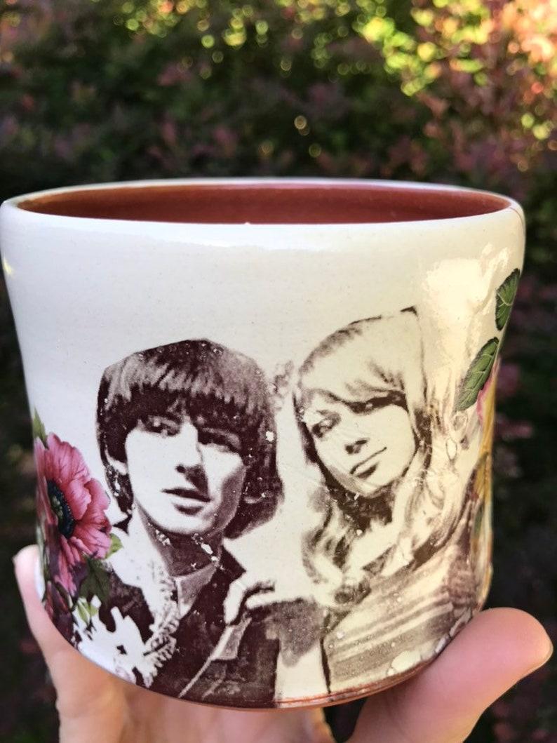 George Harrison /& Patti Boyd Cup