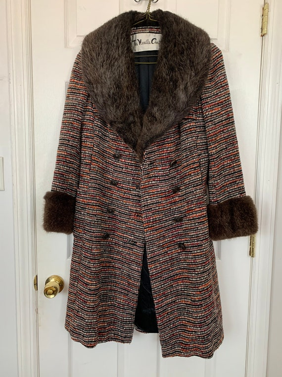 70s Tweed Penny Lane Coat