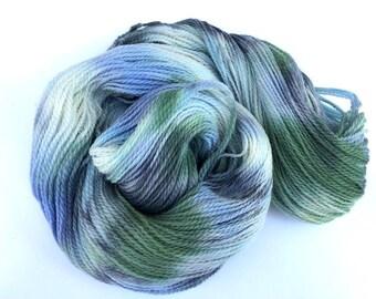 Noro Kagayaki Color #4 Lot A Wool Cotton Silk Yarn Sky Blue Green Per Skein