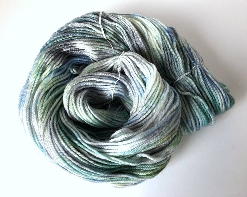 SW Merino Worsted Weight 100g 220 yd  Hand Dyed Variegated image 0