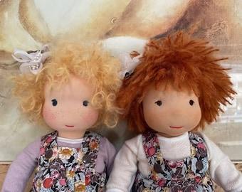 "New !! Live online workshop ""Pip"" a child friendly waldorf doll"