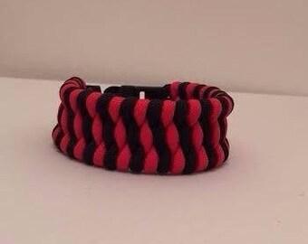 550 Paracord Survival Bracelet: Trilobite Pattern (Customize)