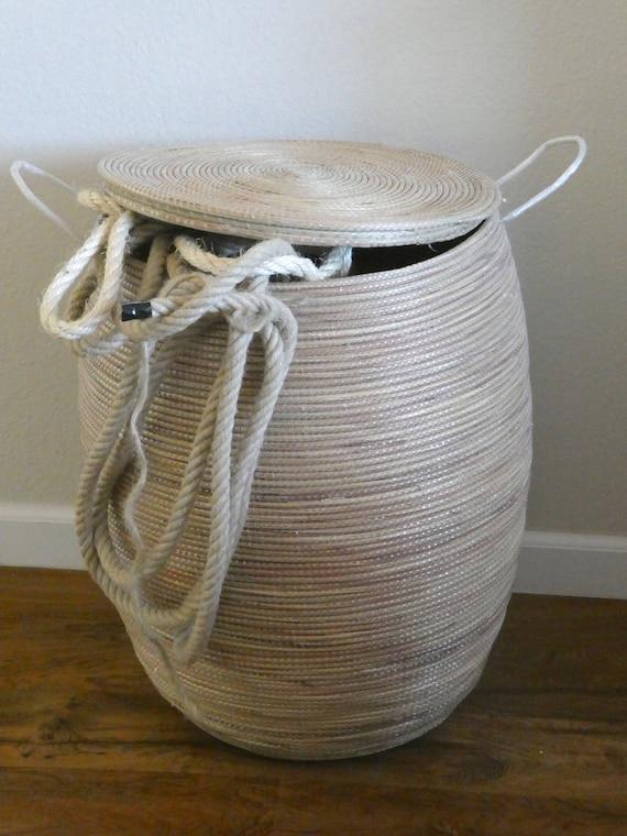 Minimalistischer Stil Wasche Reibe Klare Linien Modernes Design Naturliche Farbe Xl Hamper Waschekorb