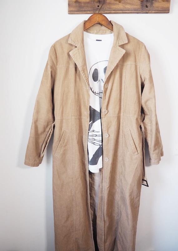 Vintage corduroy long jacket
