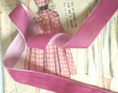 Rose Pink Velvet Ribbon f...