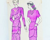 1940s Dress Pattern Advan...