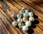 Vintage Pearl Buttons, Pe...