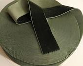 Olive Sage Green Velvet R...