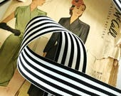 Black and White Striped R...