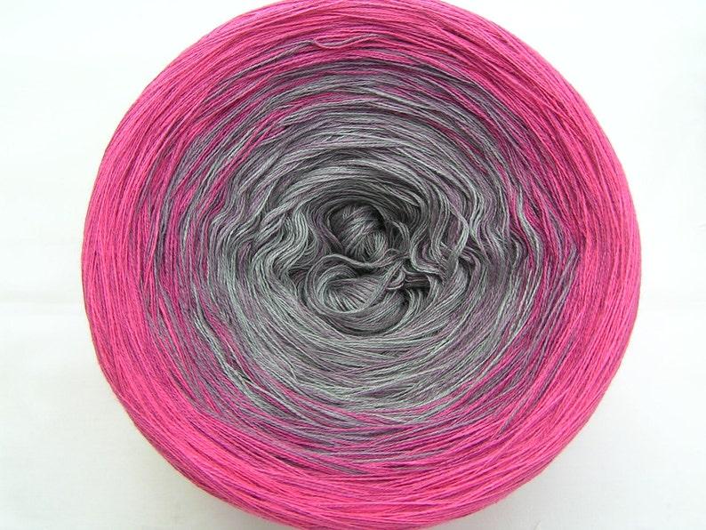 gradient Beerina Wollium 5-threaded bobble cotton 900 m gradient hand-wrapped,