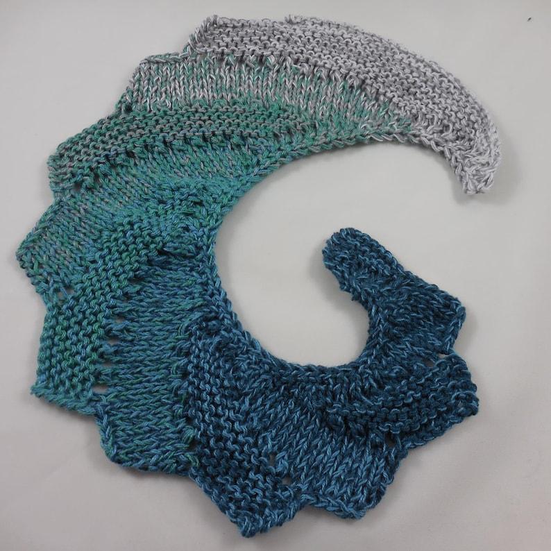 Seagrass 4ply Wollium gradient yarn fried yarn 5050 cottonacrylic