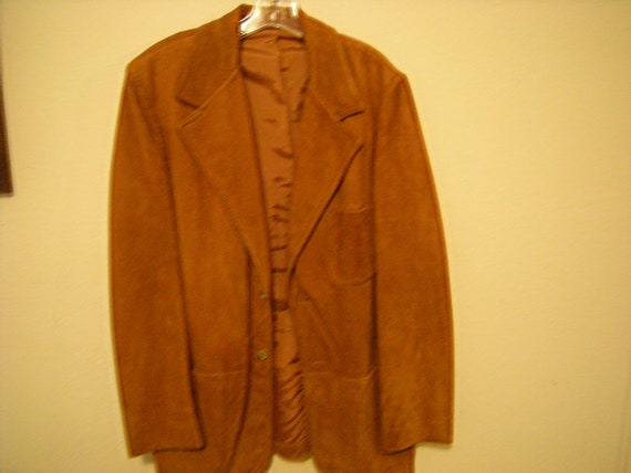 vtge Lakeland suede jacket-western wear-sport coat