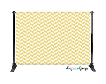 Mustard Pattern - Photography Backdrop
