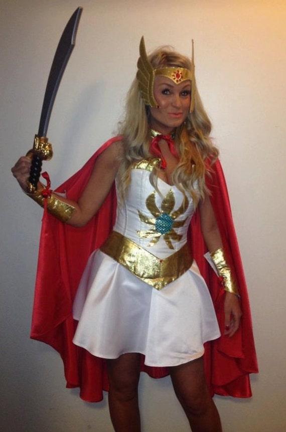 moon sailor corset costume shera woman xena girl 80s