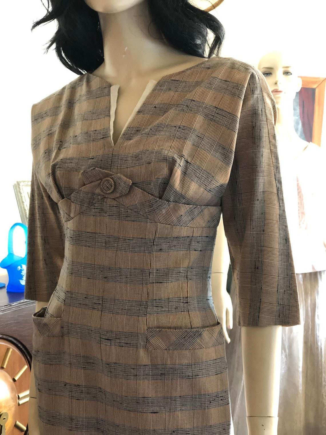 1950's Slim Midi Dress Claudia Young