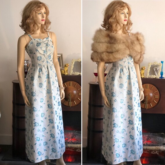 Mid Century Sweetheart Prom or Occasion Dress