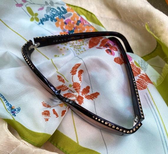 Vintage Prada Mod Wrap Sunglasses - image 5