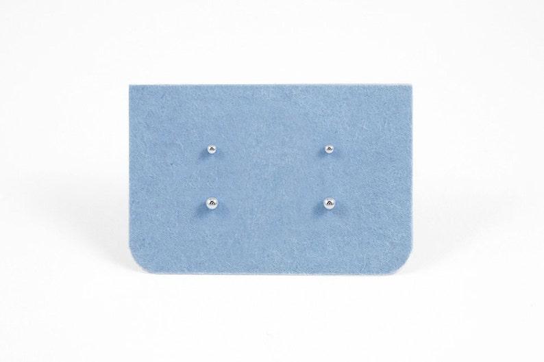 12982c806 Set of Two Minimalist Tiny Dot Earrings Sterling Silver Dot   Etsy