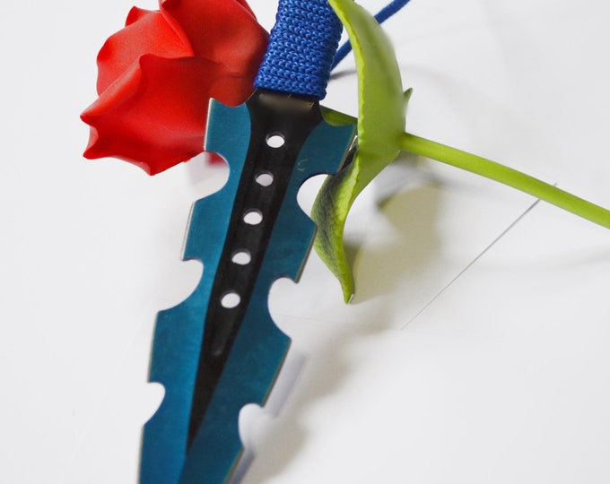 Sexy Dark Blue Blades, BDSM Knife Play Sex Toys