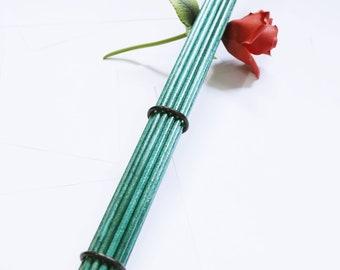 "16"" Birch Bottom Beaters - Gemstone Emerald Green - Extra Evil! - BDSM Toys"