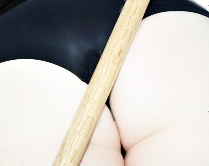Wrist and Ankle Spreader Bar - Natural Oiled Oak - BDSM Sex Toy
