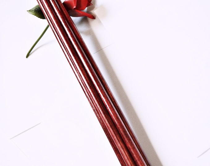 Heavy, Deep Blood Red Thudder, Thick Spanking Tool for BDSM Play