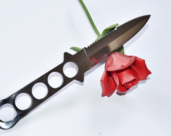 Sharp, shiny blade for knife play and fun, sharp sexy times.  BDSM KINK Sex Toy