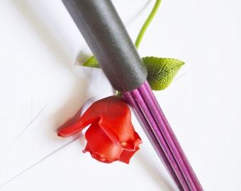 Royal Purple Birch Bottom Beaters  - BDSM Toys