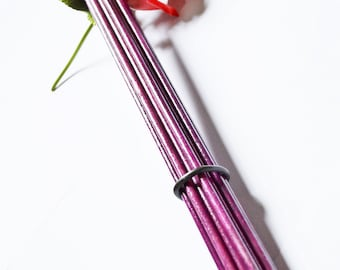 """16"""" Birch Bottom Beaters - Extra Thick for Extra Evil!  Royal Purple!  - BDSM Toys"""