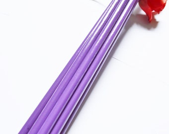Heavy Acid Purple Deep Thudder, Long and Thick Spanking Tool for BDSM Play