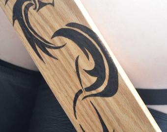 Spanking ART - BDSM Dragon paddle - heavy, sexy toys