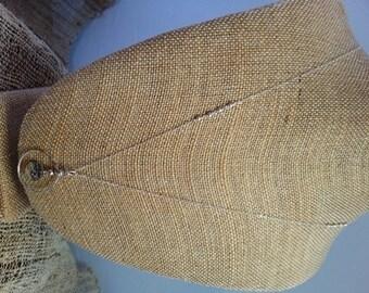 Long Cirlce Coin Necklace