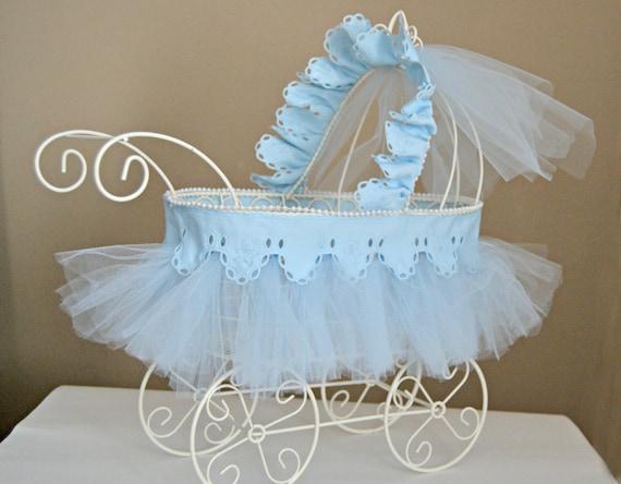 Baby Carriage Nursery Decor Baby Shower Centerpiece Vintage Etsy