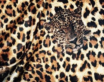 CHARMEUSE SATIN PRINT by the yard   Top quality animal Cheetah print    polyester charmeuse   print shows both sides   poly satin f21b4e406
