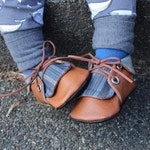 Charcoal Stripe Chuck Boots