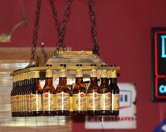 Beer Bottle Pool Table Light