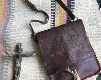 Primitive Deerskin Bag