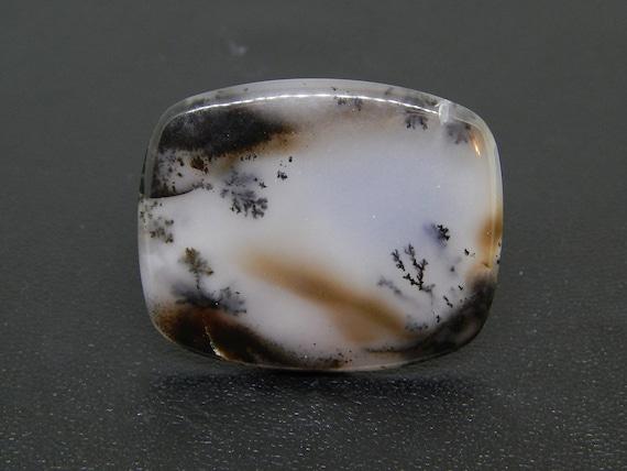 Dendritic Opal Moss Opal Cabochon Pendant