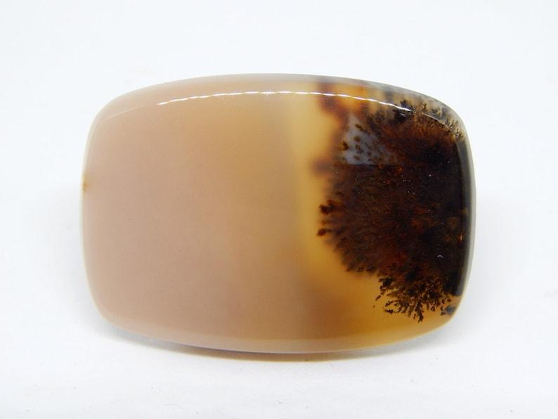 merlinite cabochon dendritic opal gemstone cabochon picture agate Dendritic landscape agate cabochon shape rectangular montana moss agate