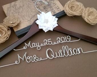SALE Bridal Hanger / Wedding Hanger / Bridesmaid gift / Bridal Hanger / Bridal Shower Gift / Bridal Party /