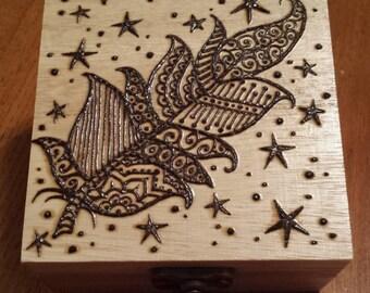Fancy Feather Box