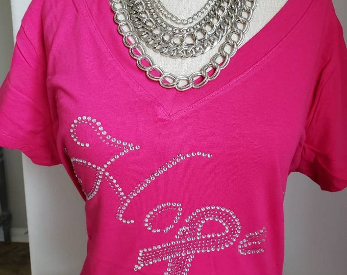 Breast Cancer awareness,National Breast Cancer Month, October awareness, Pink ribbons, Cancer awareness tee, Free Shipping