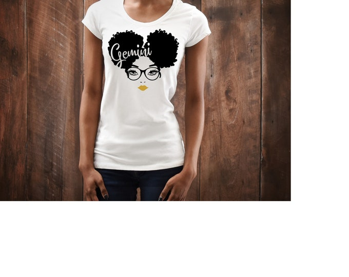 Birthday afro WOMEN BIRTHDAY SHIRT with gold lip Birthday women top, Melanin Birthday top