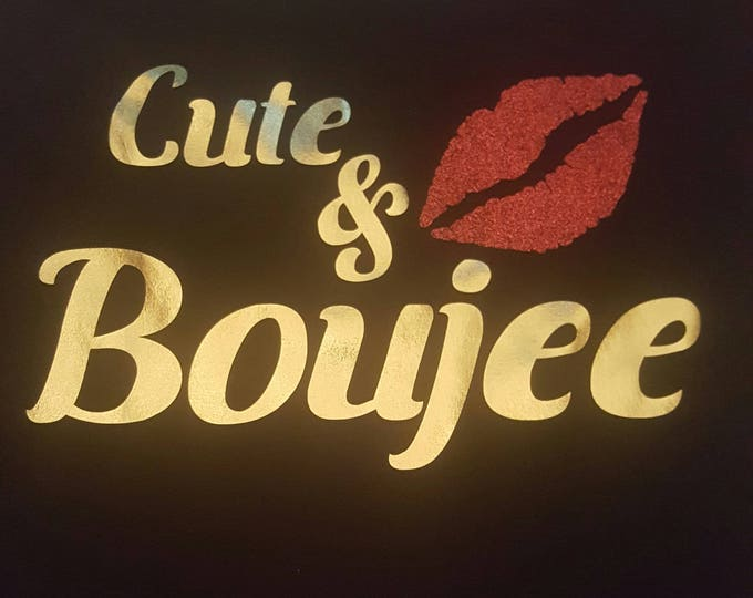 Cute and Boujee women shirt, Diva shirt, Women top, Lip shirt