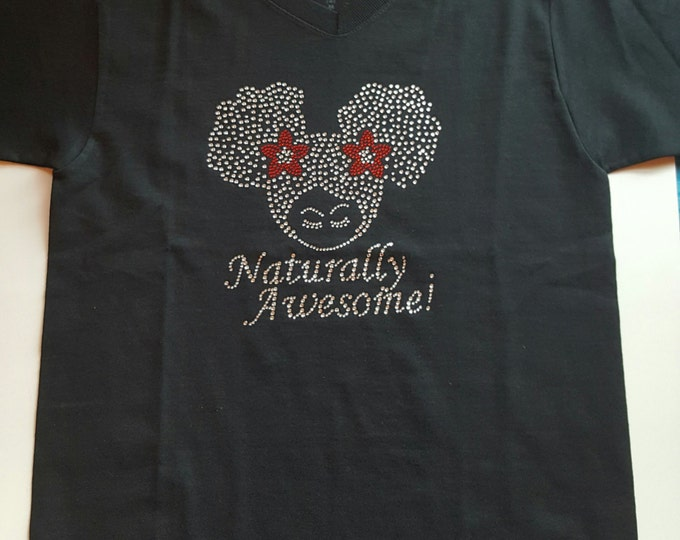 Natural Hair kid shirt