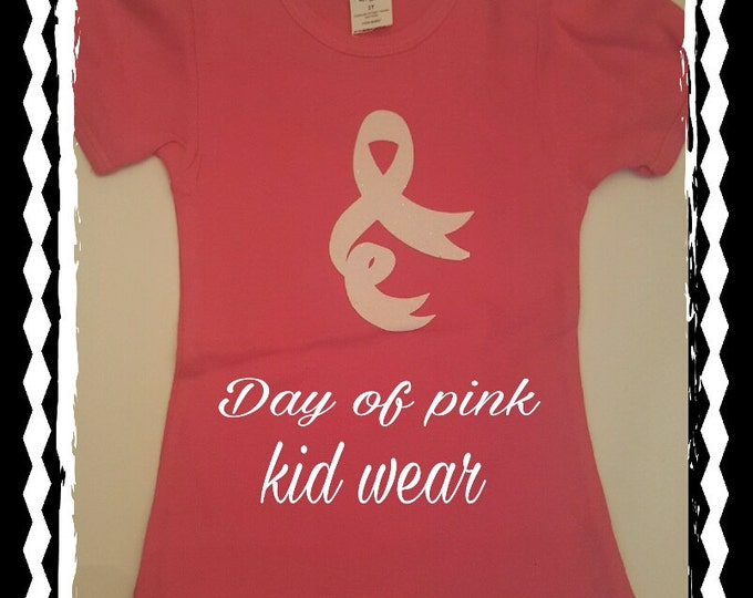 Cancer toddler short sleeve shirt