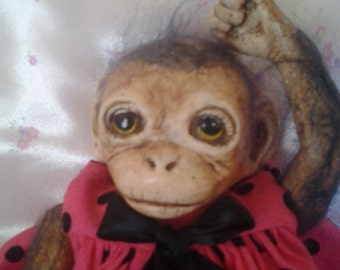 Introducing Adia, the sweetest little chimp ever!